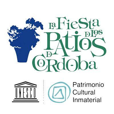 la fiesta de los patios Córdoba logo